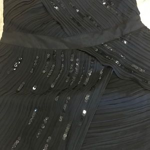 MM Couture Dresses - MM Couture by Miss Me Chiffon & Sequin dress
